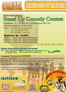 "HIMASI FMIPA Gelar ""Stand Up Comedy Contest"" - Fakultas"