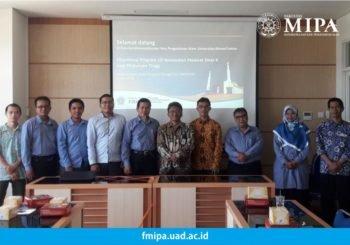 FMIPA UAD menerima Kunjungan dari Badan Pengawas Tenaga Nuklir